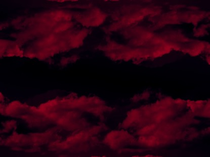 DEEP RED CLOUDS