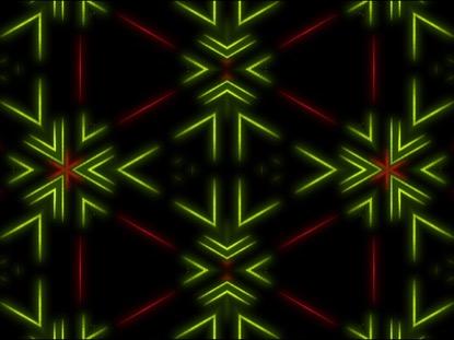 HYPER RED GREEN