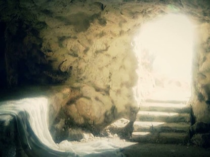 EMPTY TOMB INTERIOR LIGHT LOOP
