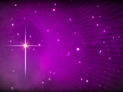 STAR OF BETHLEHEM ON ROYAL PURPLE MOTION