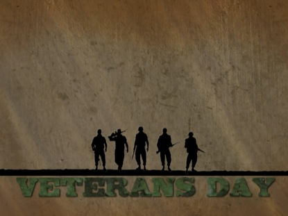 VETERANS DAY SOLDIERS MOTION