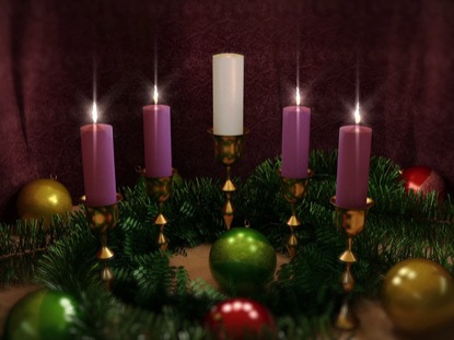 ADVENT CANDLES FOUR LOOP