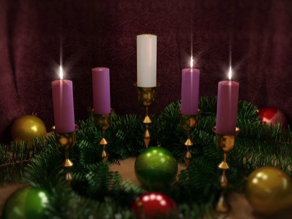 ADVENT CANDLES THREE LOOP