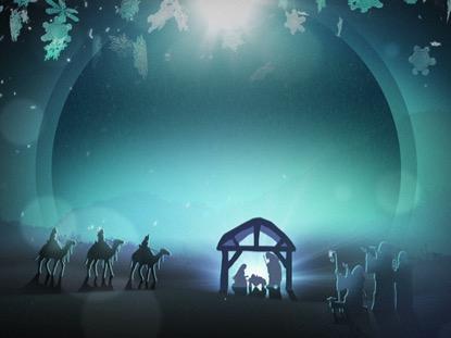 CHRISTMAS BACKGROUND 2 LOOP VOL 4
