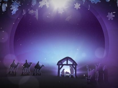 CHRISTMAS BACKGROUND 3 LOOP VOL 4