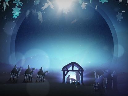 CHRISTMAS BACKGROUND LOOP VOL 4