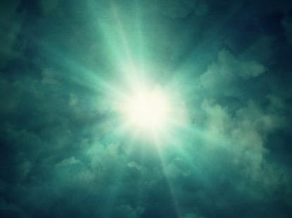CLOUDY SUNRAYS