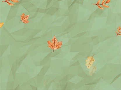 FALL GREEN BACKGROUND LOOP VOL 3