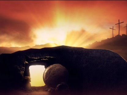 HE IS RISEN BACKGROUND