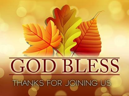 THANKSGIVING GODBLESS LOOP