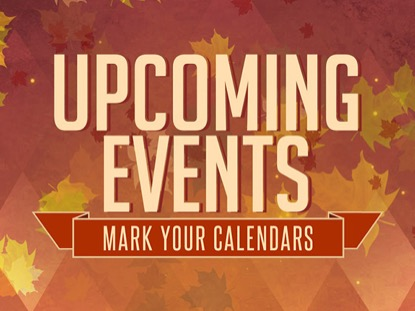 THANKSGIVING UPCOMING EVENTS LOOP VOL3