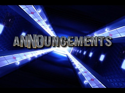 ANNOUNCEMENTS TRANSITION 6