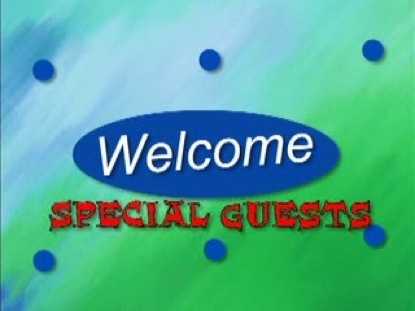 WELCOME SPECIAL GUESTS 4