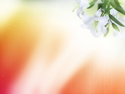 easter lilies | imagevine | worshiphouse media, Powerpoint templates