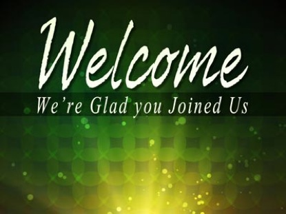 Radiant Rays Green Welcome | ImageVine | WorshipHouse Media