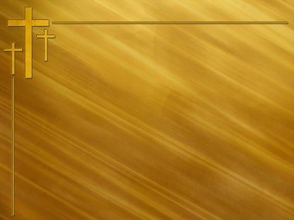 SIMPLE GOLD CROSSES