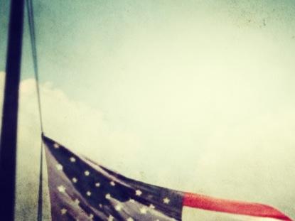 FLAG HALF MAST