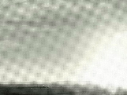 BLACK WHITE SUNSET LOOP