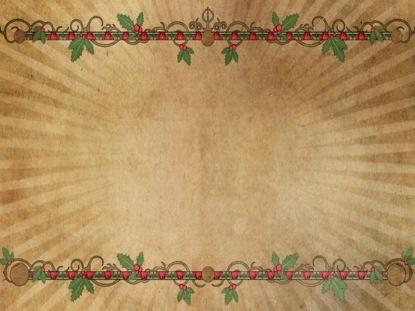 CHRISTMAS RAYS FRAME