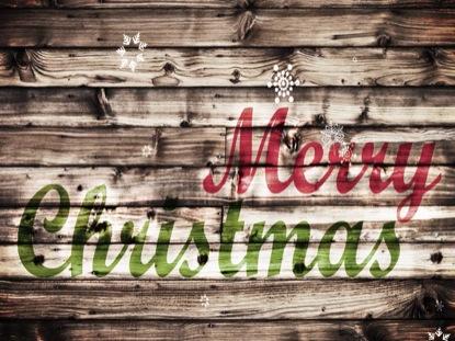 CHRISTMAS (WOOD THEME)