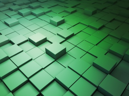 BLOCK SCAPE 1 GREEN