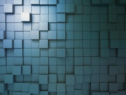 BLOCK SCAPE 3 BLUE