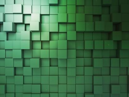 BLOCK SCAPE 3 GREEN