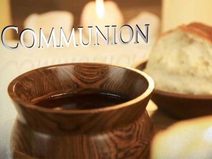 COMMUNION MOTION BACKGROUND