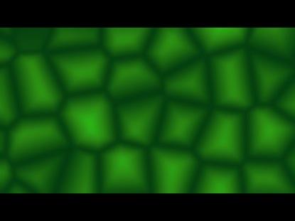 GREEN KALEIDOSCOPE