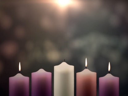 ADVENT CANDLES JOY WEEK 3