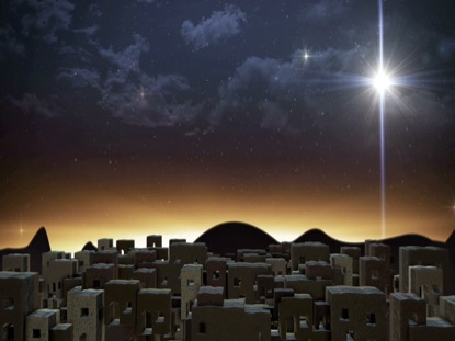 BETHLEHEM CHRISTMAS CITY STAR