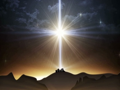 BETHLEHEM CHRISTMAS LARGE STAR LANDSCAPE