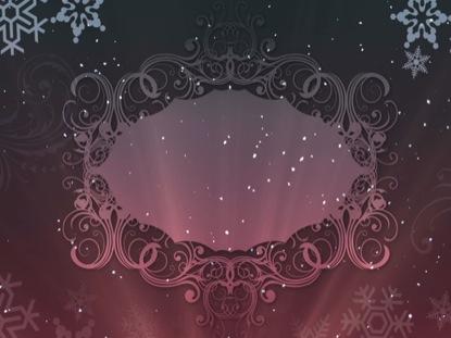 CHRISTMAS BACKGROUND ELEGANCE BLANK 2