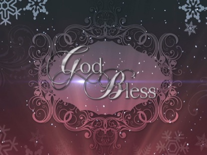 CHRISTMAS BACKGROUND ELEGANCE CLOSE 2