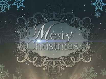 CHRISTMAS BACKGROUND ELEGANCE MERRY CHRISTMAS