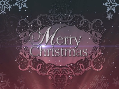 CHRISTMAS BACKGROUND ELEGANCE MERRY CHRISTMAS 2