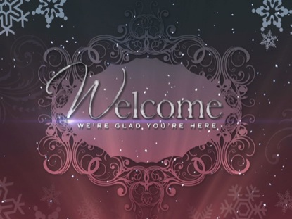 CHRISTMAS BACKGROUND ELEGANCE WELCOME 2