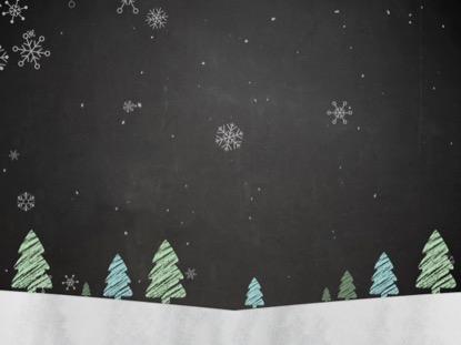 CHRISTMAS CHALK 2
