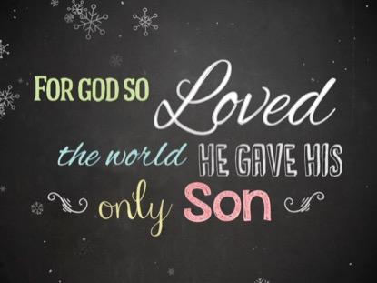 CHRISTMAS CHALK LOVE