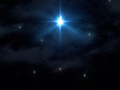 CHRISTMAS SAVIOR STAR SKY