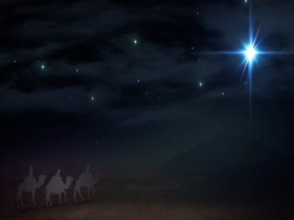 CHRISTMAS SAVIOR STAR WISE MEN