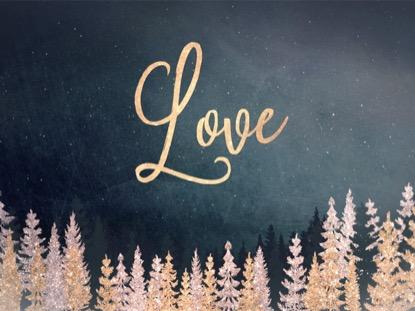 CHRISTMAS SPARKLE LOVE