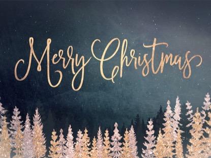 CHRISTMAS SPARKLE MERRY CHRISTMAS