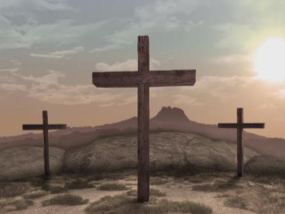 EASTER CROSS OF JESUS