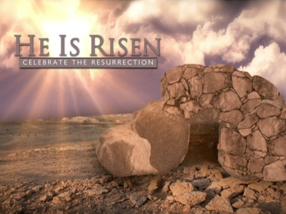 EMPTY TOMB HE IS RISEN