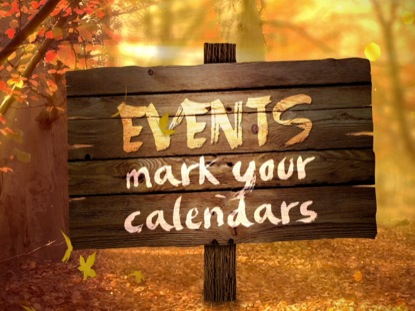 FALL FOREST EVENTS