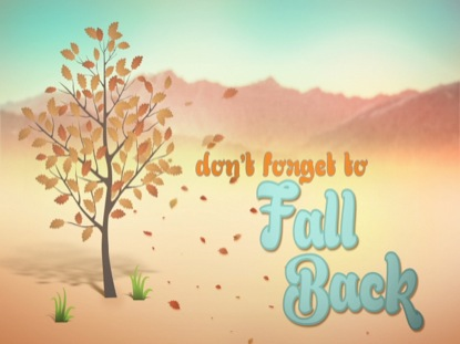 FALL FUN FALL BACK
