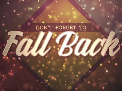 FALL SHADES FALL BACK