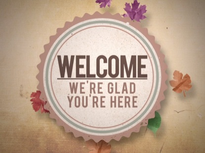 FALL VINTAGE WELCOME ANIMATED