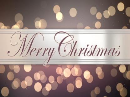 GLAMOROUS LIGHTS MERRY CHRISTMAS